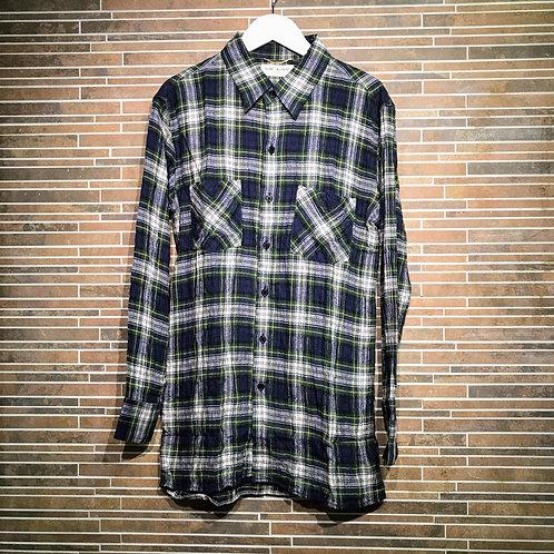 SAINT LAURENTチェックシャツ S