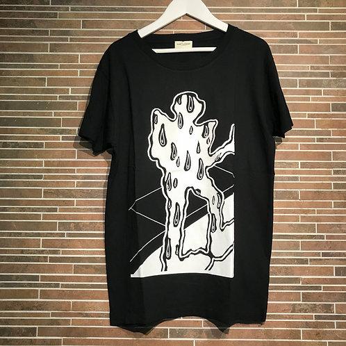SAINT LAURENTプリント Tシャツ S