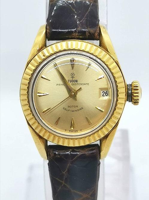 TUDOR  チュードル K18YG 小バラ 7981 1964年