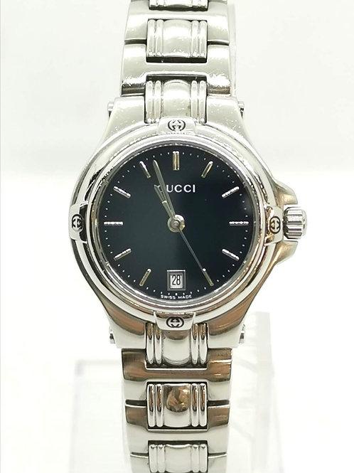 GUCCI  グッチ  9040L  デイト  SS  時計
