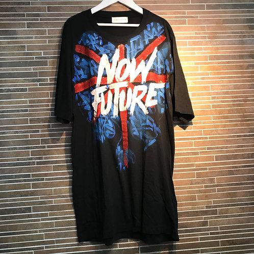 FAITH CNNEXIONNOW FUTUREユニオンジャック Tシャツ XS ブラック