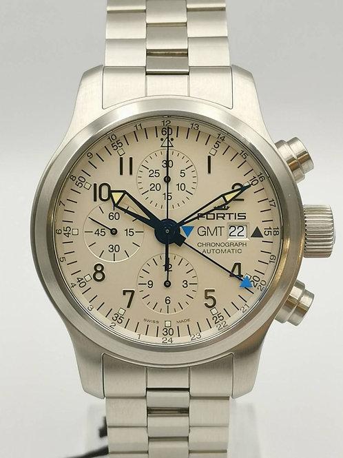 FORTIS  フォルティス フリーガークロノ GMT 時計 未使用展示品