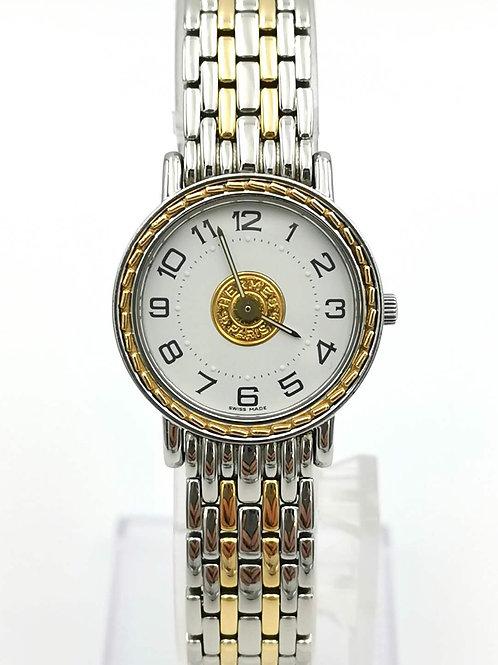 HERMES  エルメス  E4.220 セリエ コンビ 時計
