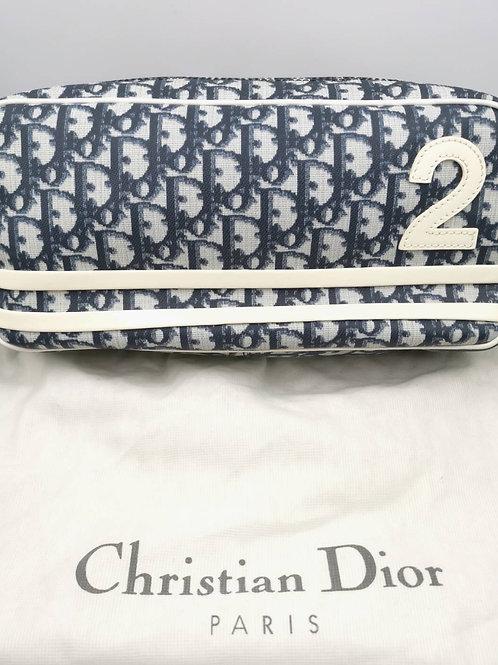 Christian Dior  ショルダー バッグ トロッターブルー