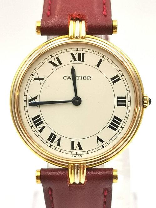 Cartier  K18YG/PG/WG  ヴァンドームLM