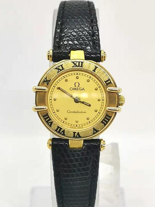 OMEGA オメガ  K18YG  コンステレーション  QZ  時計