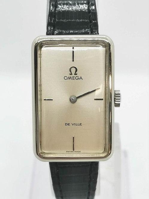 OMEGA オメガ De Ville  レクタンギュラー  SS  腕時計
