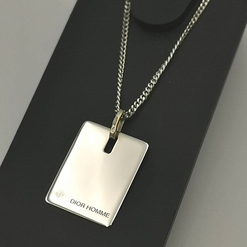 Dior Homme  ディオールオム K18WG  ネックレス