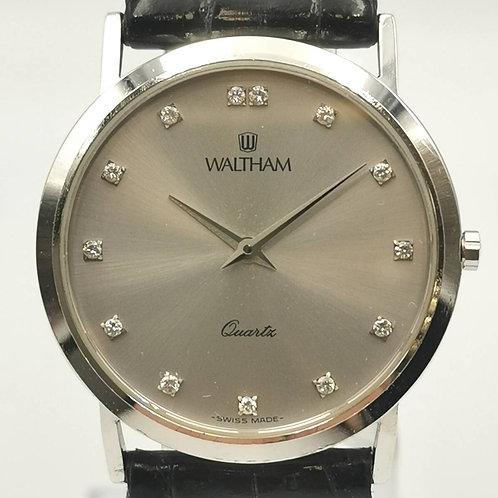 WALTHAM  94200.26  K18WG 13P ダイヤ