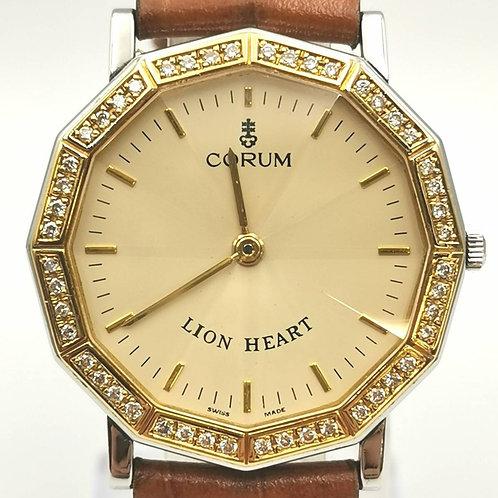 CORUM  64.801.21  ライオンハート YG/SS  ダイヤ