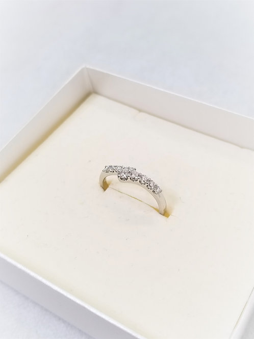 STAR JEWLRY 0.38ct TEN DIAMONDS RING 14号 PT950