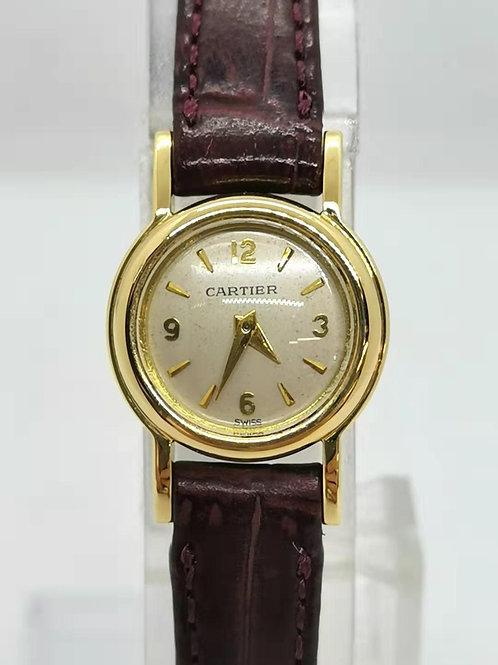 Cartier  カルティエ  K18YG  裏リューズ  時計