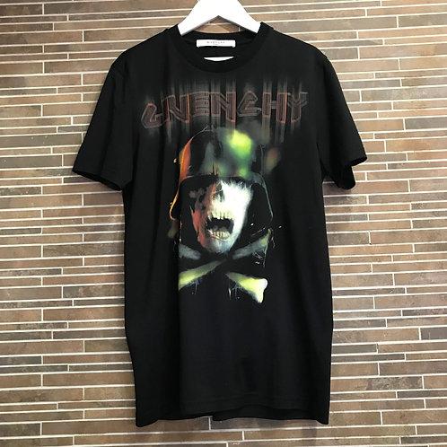GIVENCHYミリタリースカルTシャツ XS