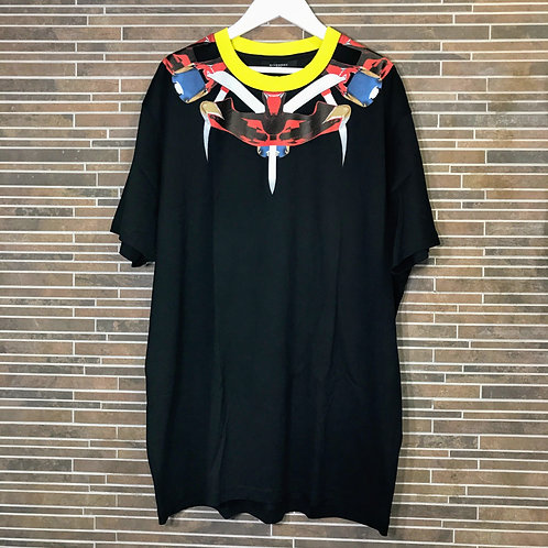 GIVENCHY ネックプリントTシャツ s