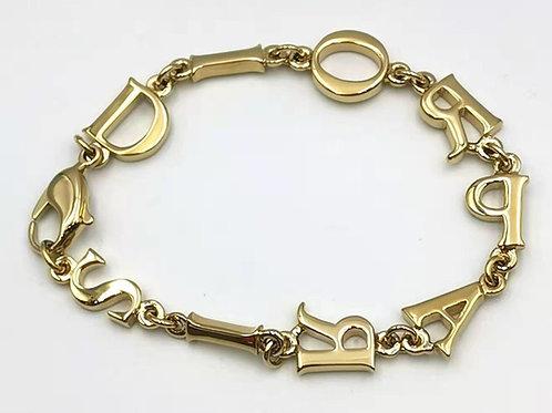 Christian Dior   ブレスレット GP ゴールド 美品