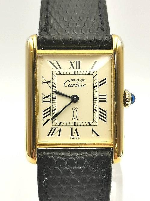 Cartier  タンクマストメルヴェイユ  SV925/GP