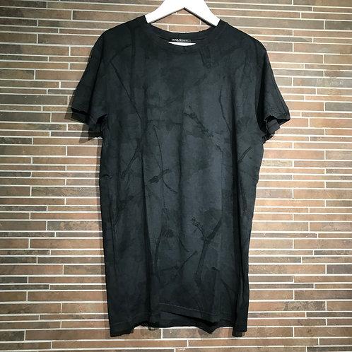 BALMAINクラックプリント Tシャツ XS