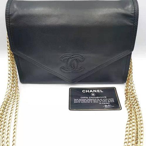 CHANEL 6連チェーンショルダーバッグ
