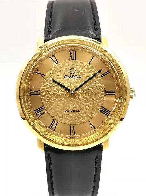 OMEGA  オメガ De Ville フラワー GP 手巻き 時計