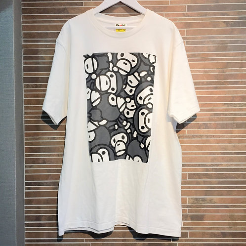 BAPEマイロTシャツ L