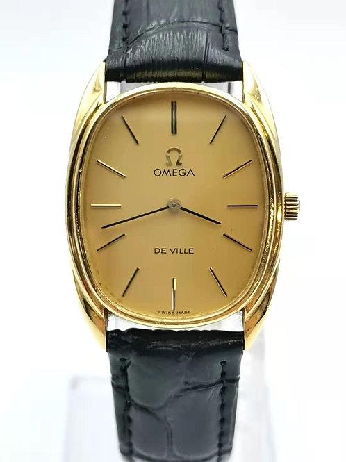 OMEGA  オメガ  K18YG  De Ville  手巻き  時計