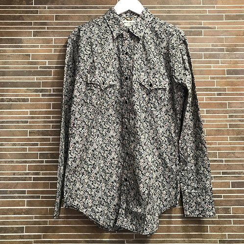 SAINT LAURENTフラワーシャツ