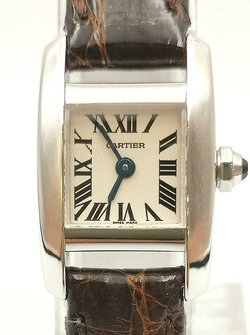Cartier  カルティエ 2831  タンキッシム K18WG