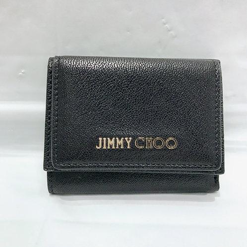 JIMMY CHOO 3つ折りロゴ財布