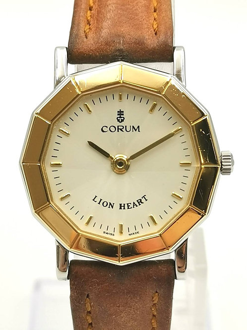 CORUM   K18YG/SS  ライオンハート