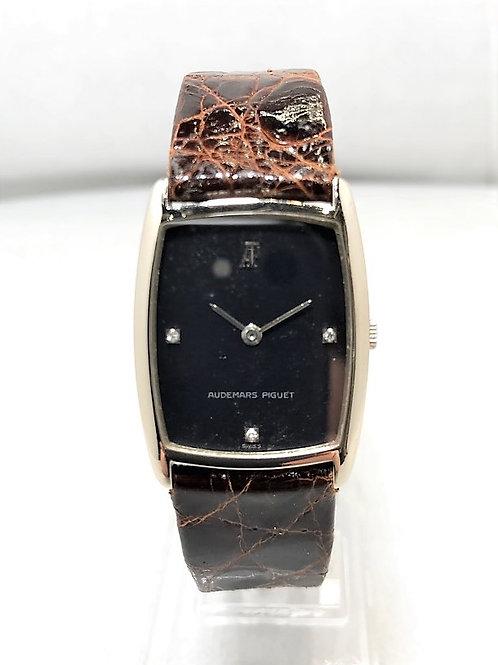 AUDEMARS PIGUET K18WG 金無垢 3Pダイヤ 手巻き時計