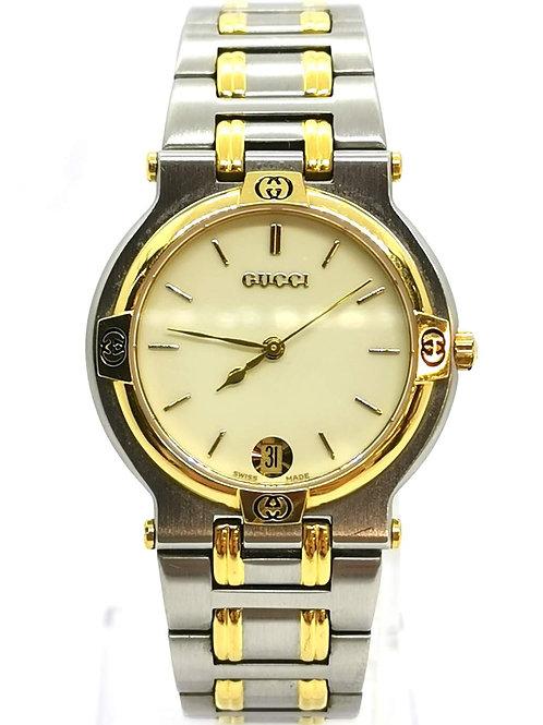 GUCCI  グッチ  9000M コンビ デイト  時計