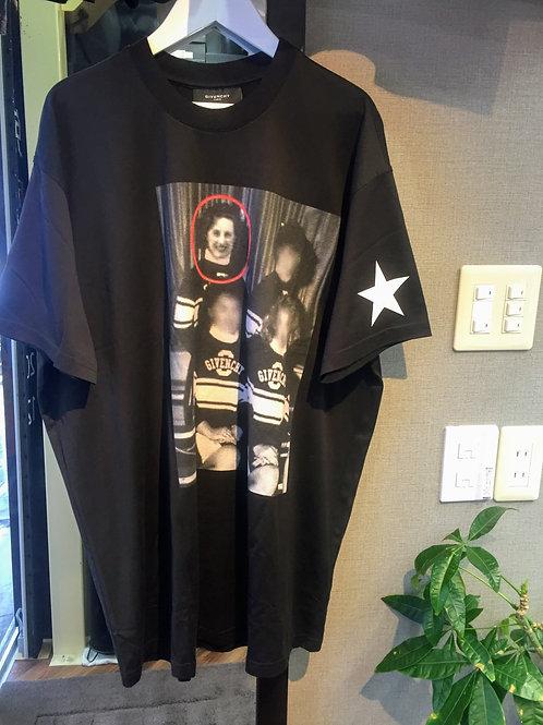 GIVENCHY袖スターグループフォト Tシャツ XXS