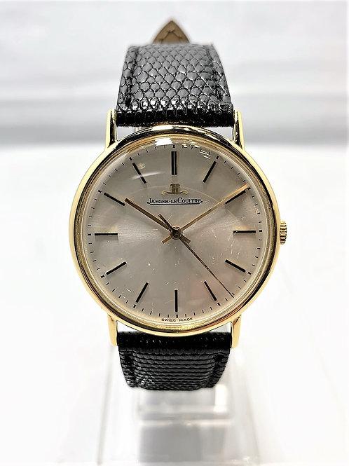 JAEGER LECOULTRE K18YG 3針 金無垢 手巻き時計