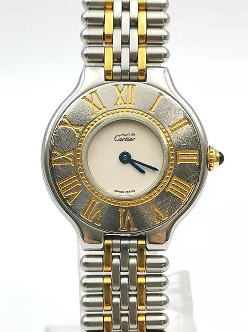 Cartier  カルティエ  マスト21 クォーツ 時計