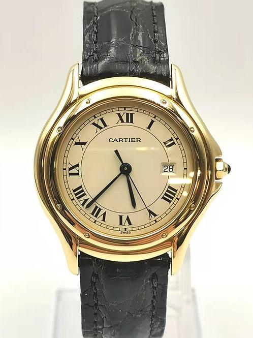 Cartier  K18YG  パンテールLM 時計