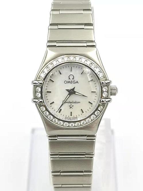 OMEGA オメガ  コンステレーション  ダイヤ  シェル  時計