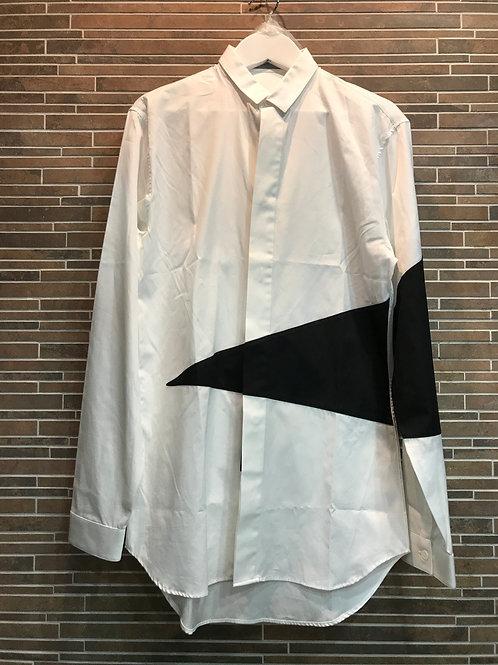 DIOR  HOMME  パッチデザイン比翼シャツ 37