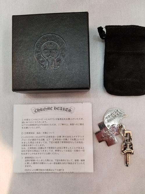 CHROME HEARTS クロムハーツ 大阪限定 3トリンケッツペンダント 39.1g インボイス 箱 保存袋