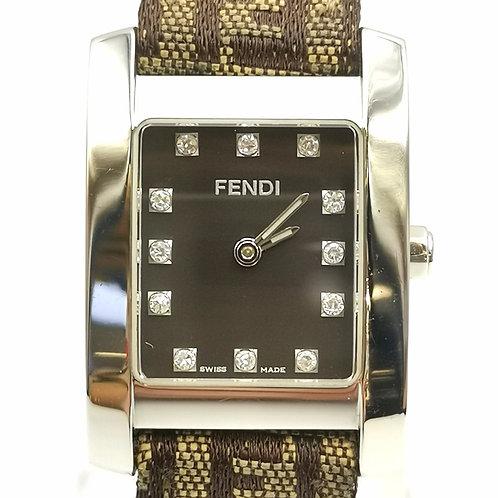 FENDI  123-7000L-054 レクタンギュラー 12P ダイヤ