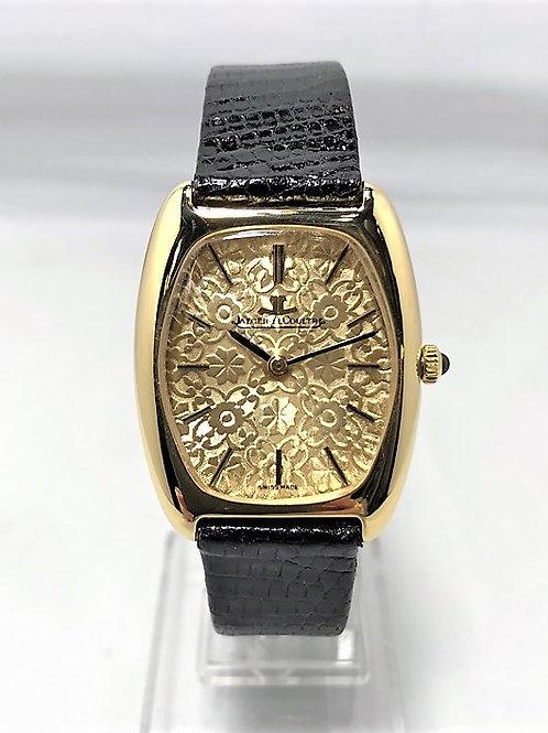 JAEGER LECOULTRE K18YG 貴重文字盤 手巻き時計
