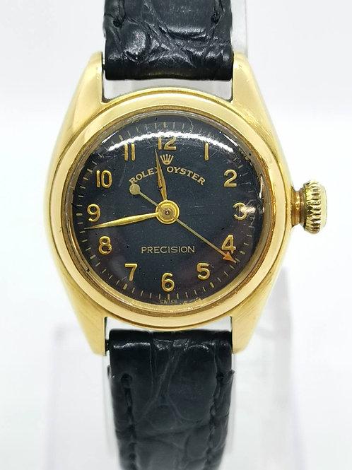 ROLEX K18YG オイスタープレシジョン 5004 1950年 腕時計