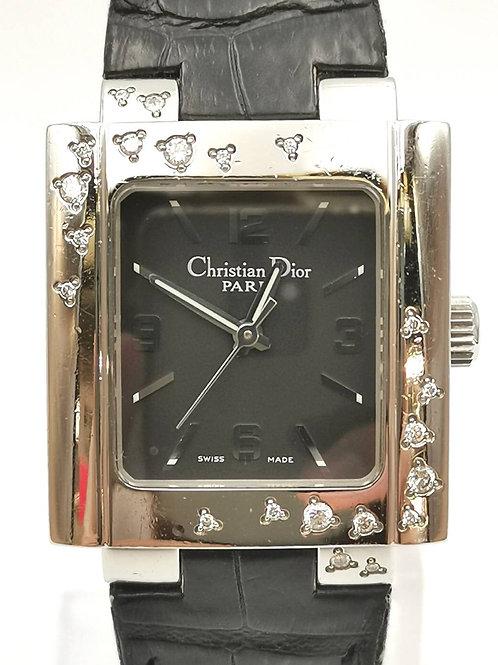 Christian Dior  D98-1014  スクエア ダイヤ