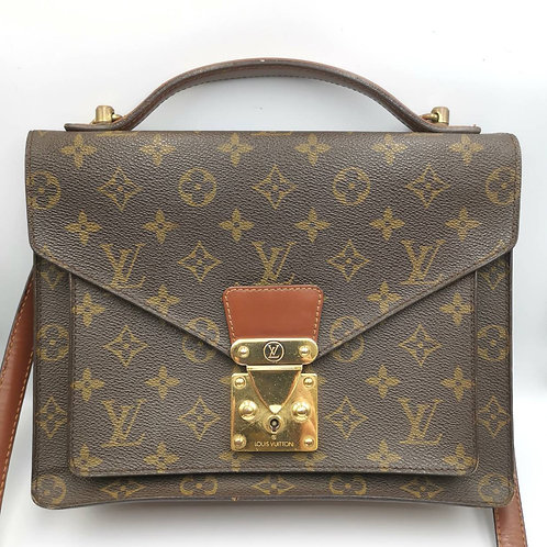 LOUIS VUITTON  モンソー 2wayバッグ モノグラム  バッグ