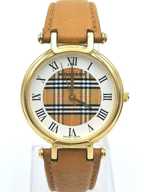 BURBERRY  バーバリー  11200 G  チェック ローマ GP 時計
