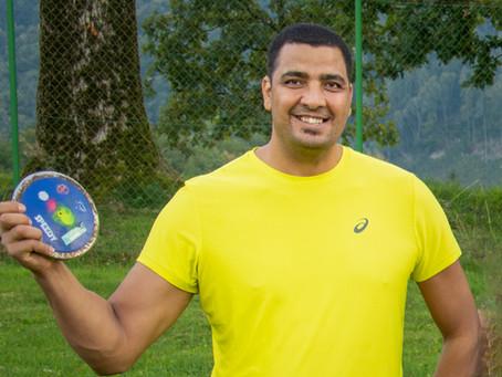 Gold für Ahmad Khatab