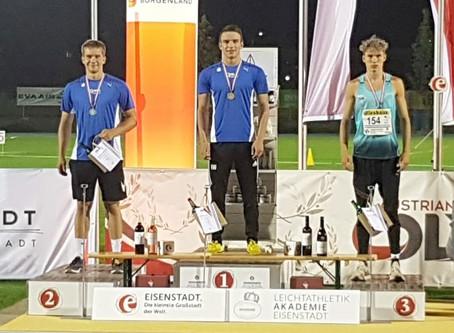 Medaillenregen bei ÖM U16 und U20