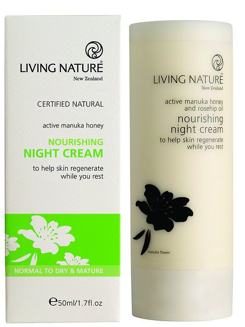 Living Nature Nourishing Night Cream