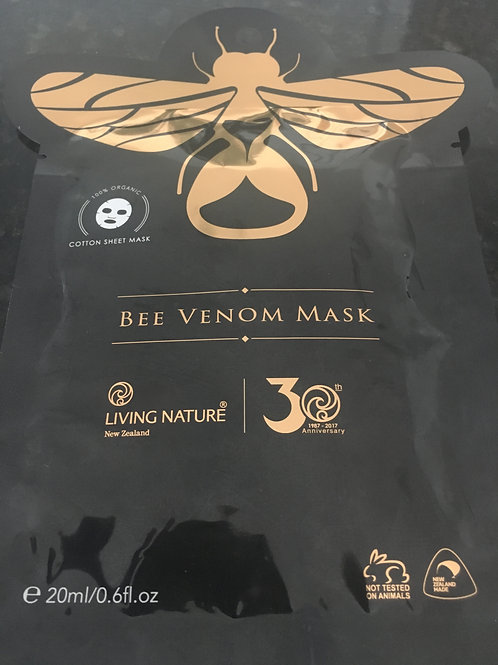 Living Nature Bee Venom Mask (single sachet)