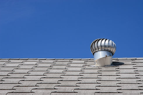 Roof top ventilation system for heat con