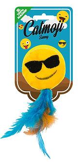 Emoji cat sunny